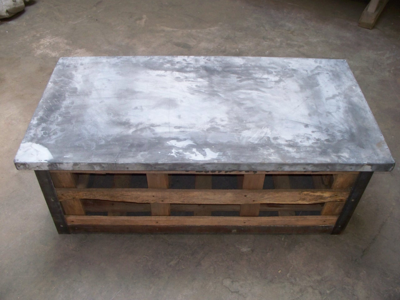 Shipping crate coffee table One of a kind coffee tables